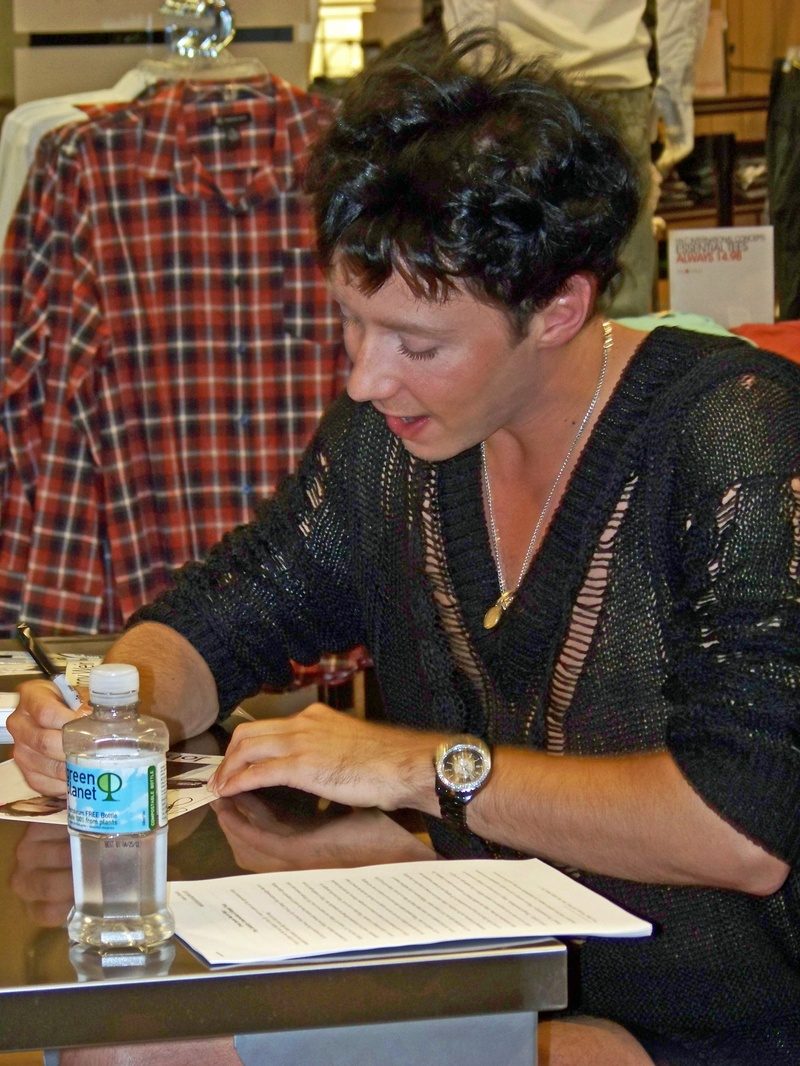 Johnny Weir 6.22.11